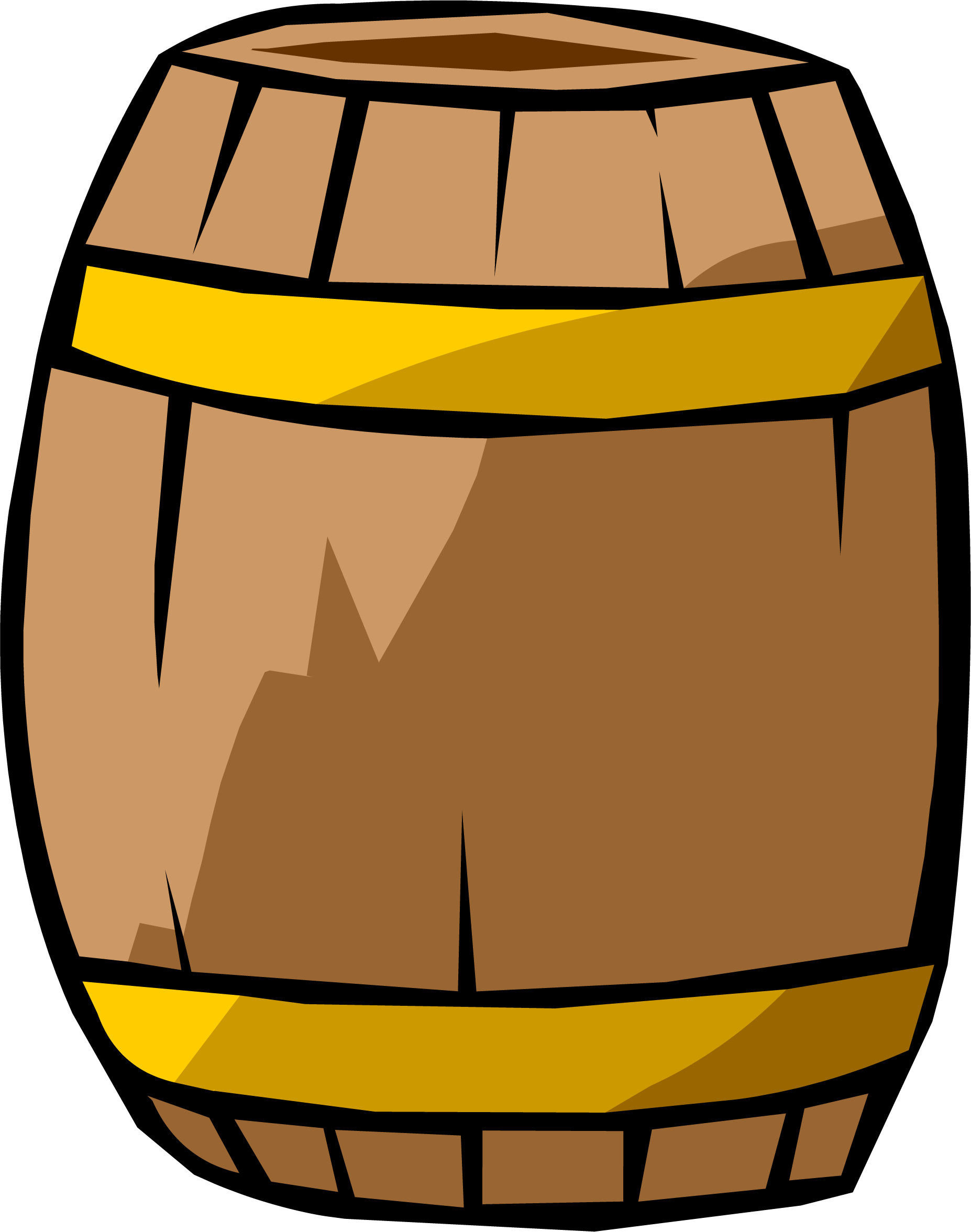 Free transparent clipart objects vector freeuse download Barrel Clipart transparent PNG - StickPNG vector freeuse download