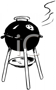 Bbq black and white clipart clip art transparent library Black And White Bbq Clipart | Clipart Panda - Free Clipart Images clip art transparent library