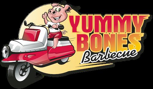 Bbq bones clipart banner transparent Yummy Bones Barbecue Restaurant Menu | Yummy Bones BBQ Catering banner transparent