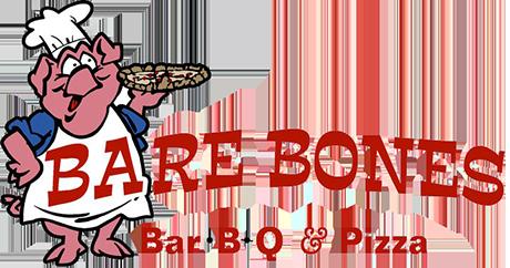 Bbq bones clipart black and white Bare Bones BBQ & Pizza | Barbecue Restaurant Bay City MI black and white