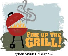 Bbq clipart for sale clip freeuse download Grill Clip Art - Royalty Free - GoGraph clip freeuse download