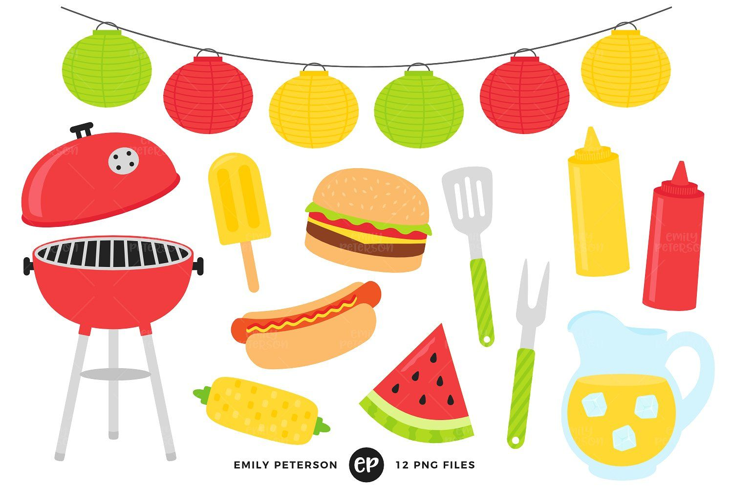 Bbq clipart for sale svg royalty free library Pin by gowayd on Anime | Clip art, Summer bbq, Graphic illustration svg royalty free library
