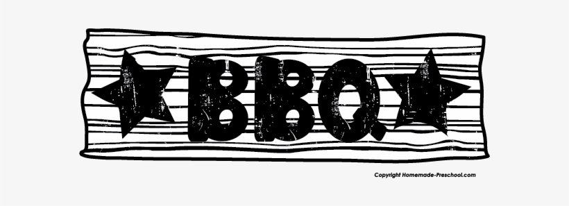 Bbq clipart free black and white banner free download Free Bbq Clipart - Black And White Bbq Transparent PNG - 592x217 ... banner free download