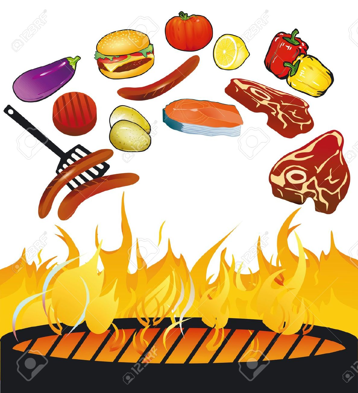 Bbq food clipart clip art free download Bbq food clipart 5 » Clipart Station clip art free download