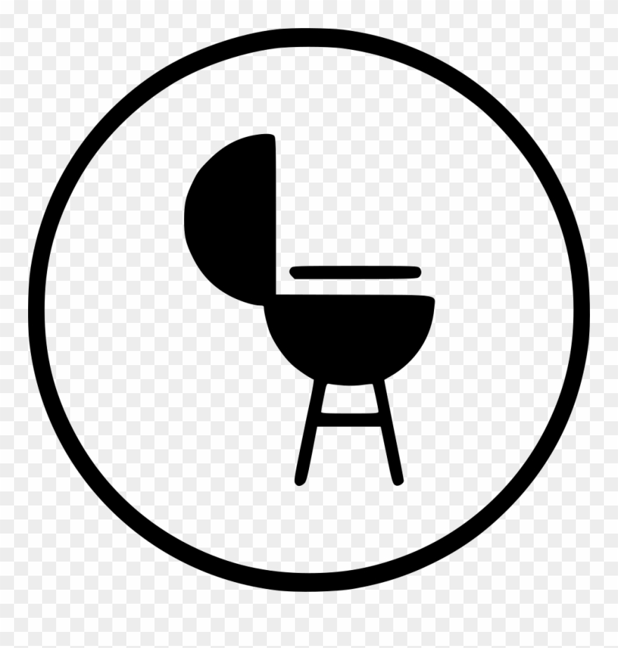 Bbq icon clipart clip transparent library Png Free Library Barbecue Clipart Commercial Cooking - Bbq Png Icon ... clip transparent library