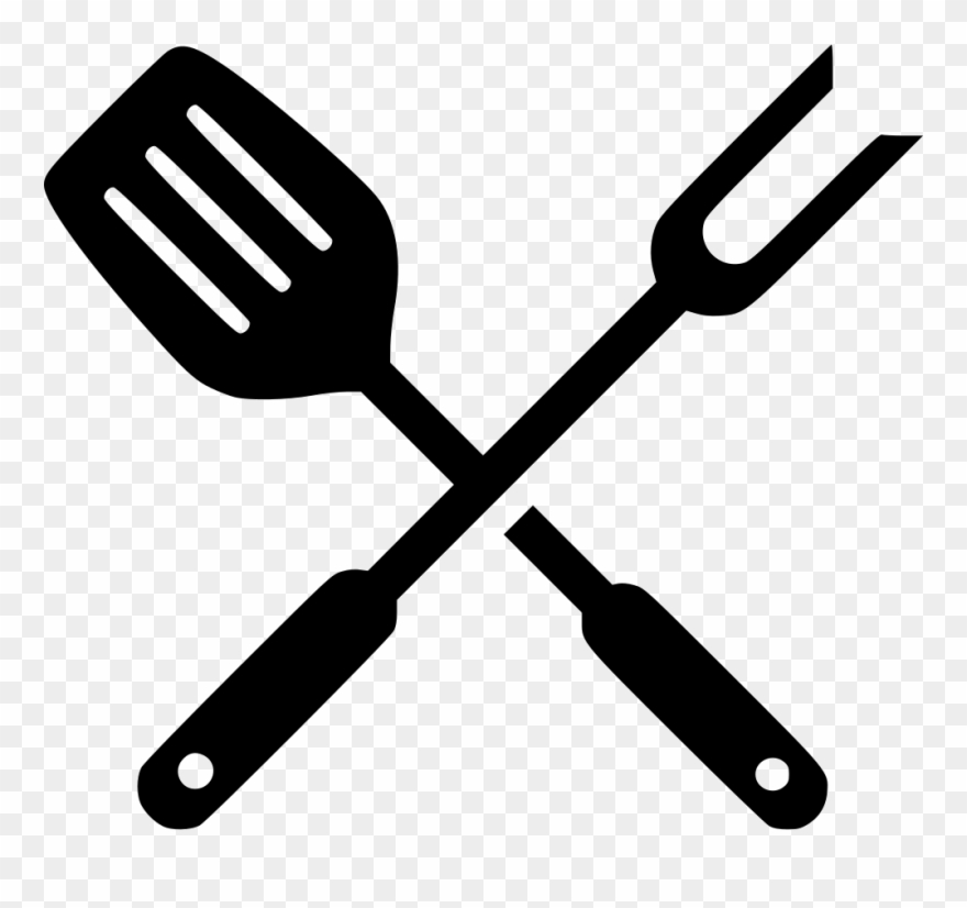 Bbq spatula clipart graphic freeuse stock Grill Clipart Svg - Grill Tools Svg - Png Download (#65451) - PinClipart graphic freeuse stock