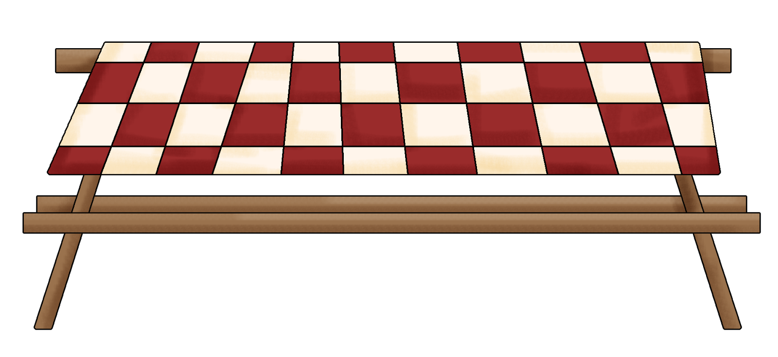 Bbq table cloth clipart free clip Picnic Tablecloth Clipart | Free download best Picnic Tablecloth ... clip