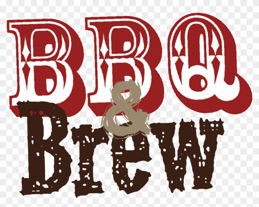 Bbq text clipart clip royalty free library Bbq Brew Logo - Bbq And Brew Clipart, HD Png Download - 1518x1170 ... clip royalty free library
