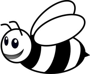 Bee clipart black and white banner royalty free library Bees Clipart Black And White banner royalty free library