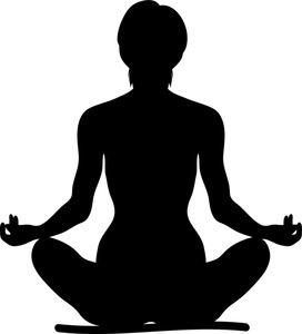 Yoga image clip art. Be fit clipart