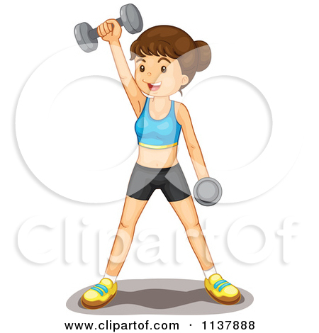Be fit clipart clip stock Royalty-Free (RF) Fit Woman Clipart, Illustrations, Vector Graphics #1 clip stock
