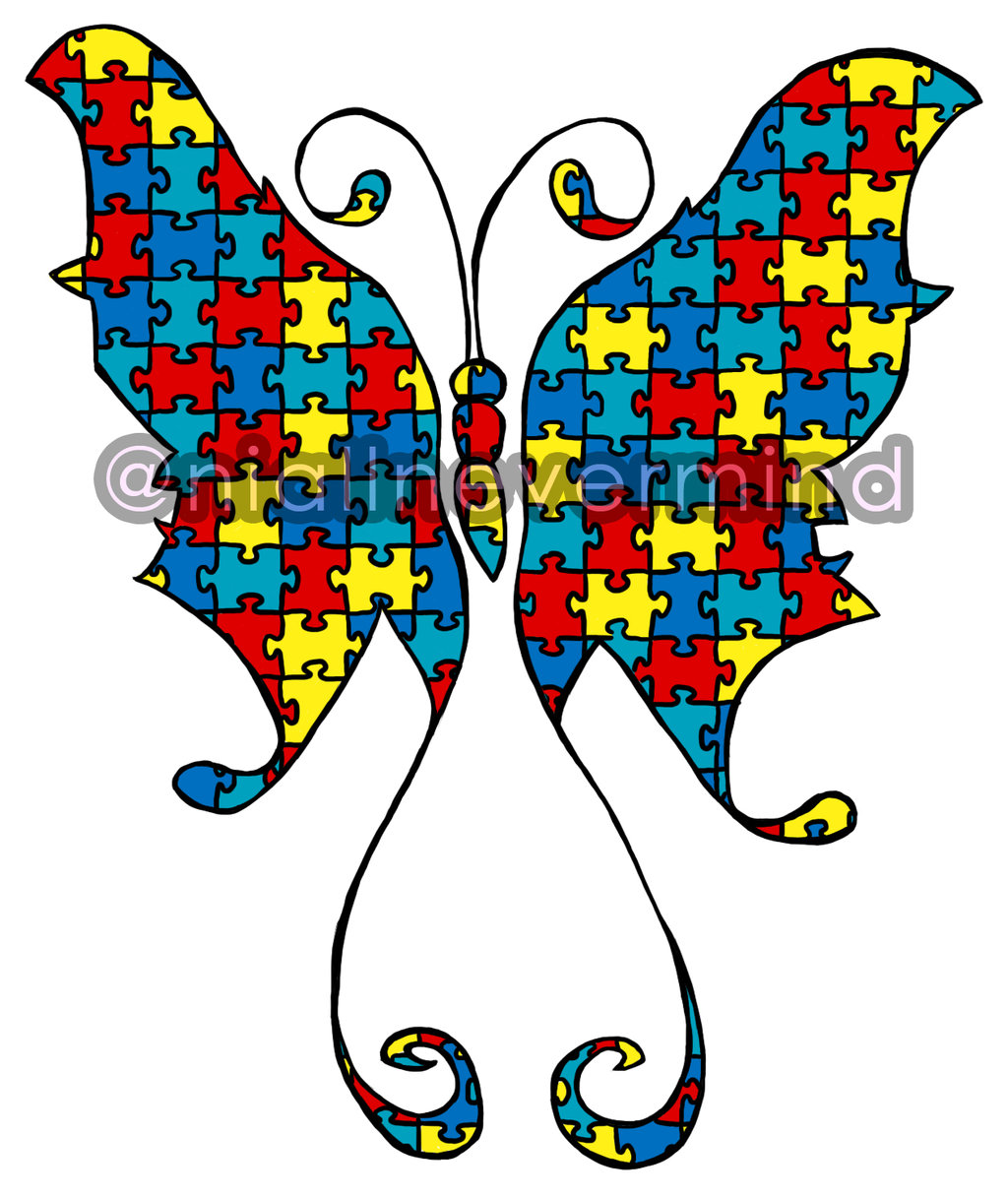 Be free butterfly saying clipart clip free stock Autism Clipart Group with 70+ items clip free stock