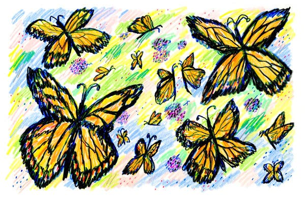 Be free butterfly saying clipart clip art freeuse Opinion | Are We Watching the End of the Monarch Butterfly? - The ... clip art freeuse