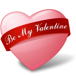 Be mine valentine heart clipart black and white download Be My Valentine Pink Heart Icon, PNG ClipArt Image | IconBug.com black and white download