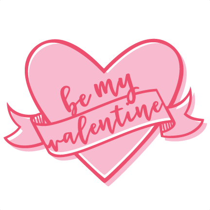 Be mine valentine heart clipart image free stock Be My Valentine Heart Scrapbook cutting file svg cuts scrapbook cut ... image free stock