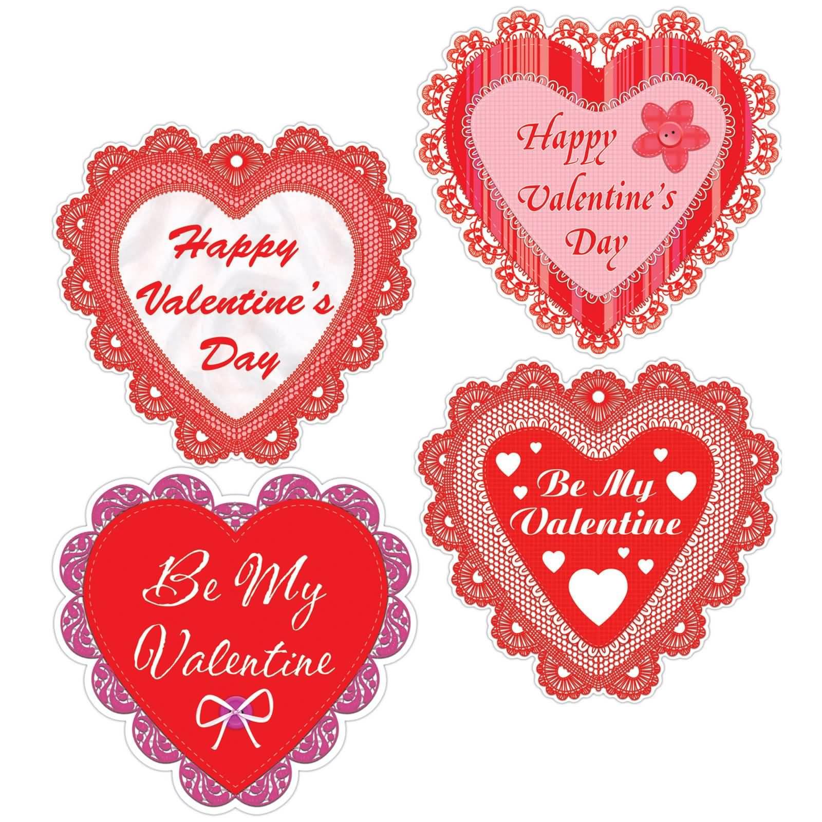 Be mine valentine heart clipart jpg free download Happy Valentine\'s Day Be My Valentine Hearts Clipart jpg free download