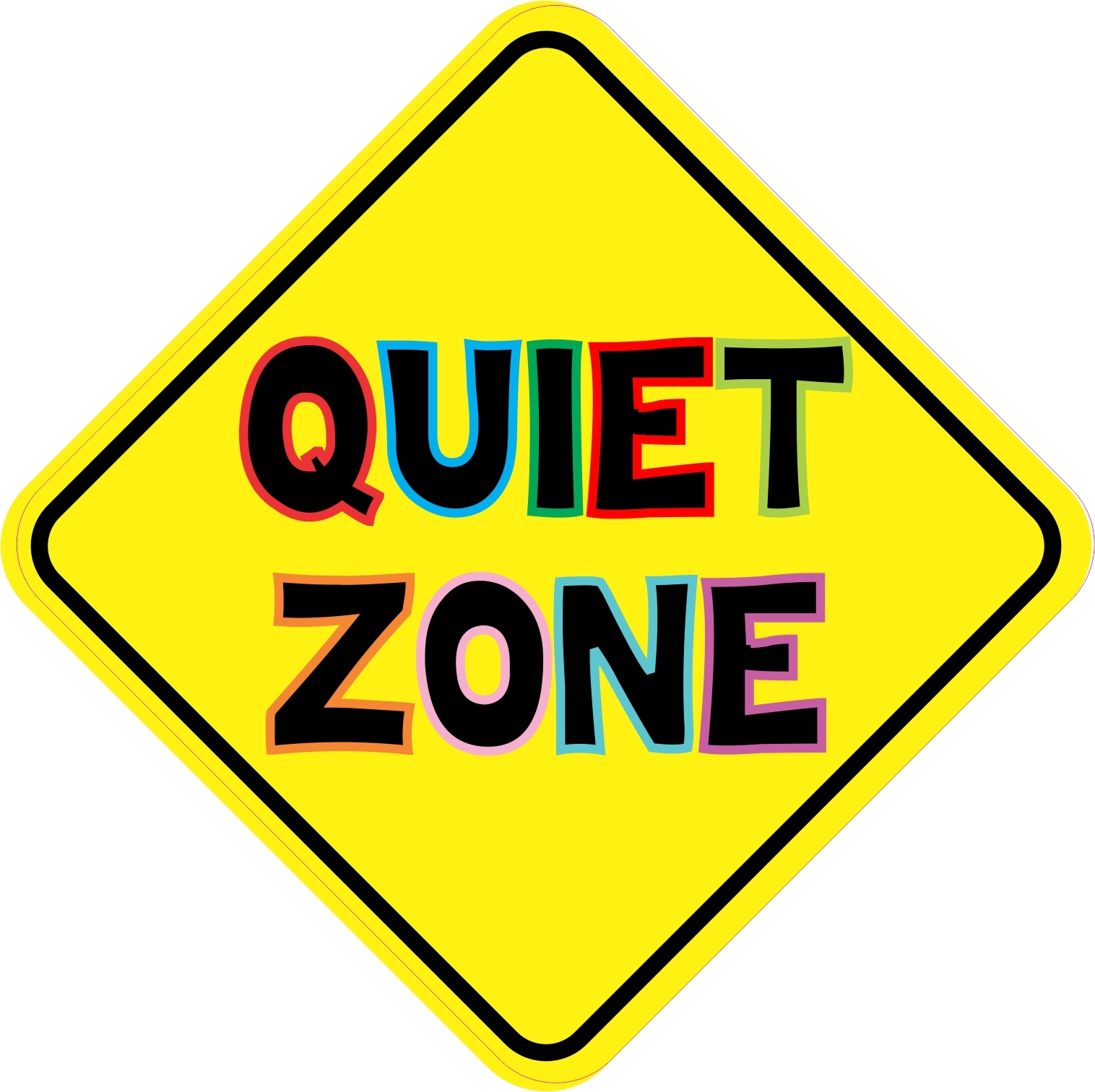 Class room quiet zone clipart black and white clipart Best Quiet Clipart #14251 - Clipartion.com clipart