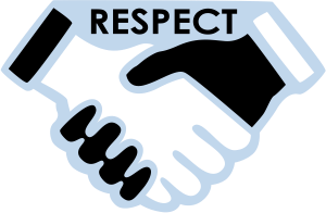 Be respectful clipart svg royalty free stock be respectful clipart 70881 - Stan Lees Hands Of Respect - Free Clipart svg royalty free stock
