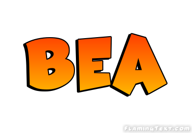 Bea clipart png free Bea Logo   Free Name Design Tool from Flaming Text png free