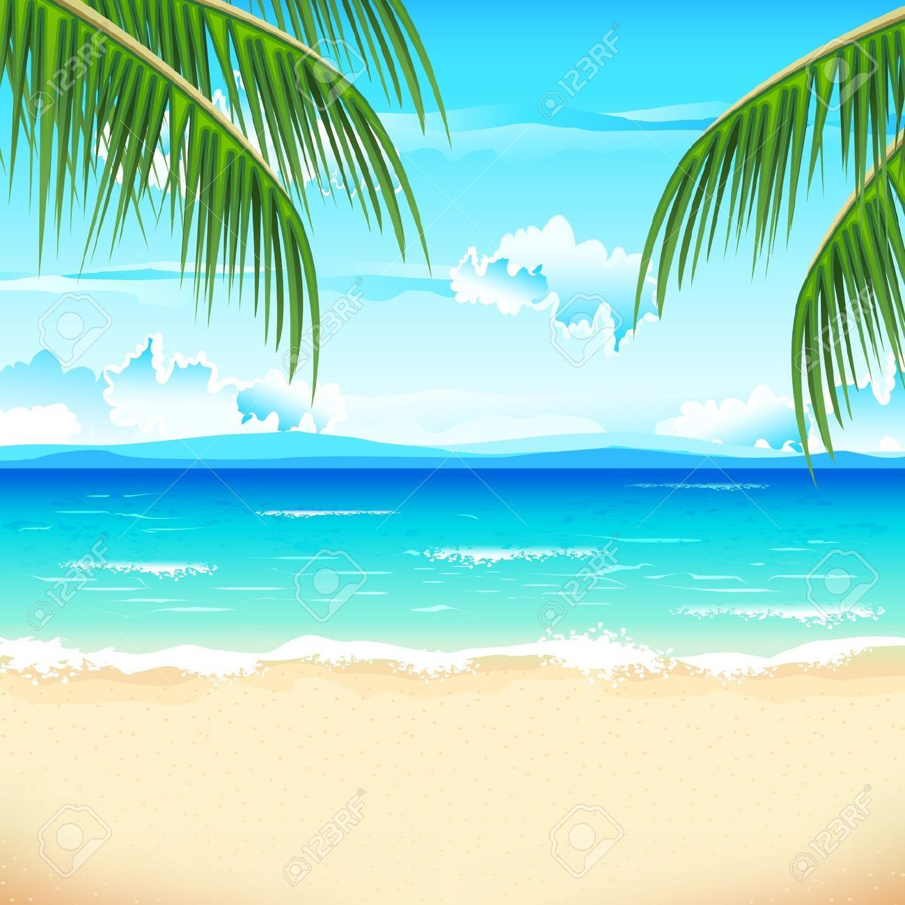 Beach background clipart free jpg royalty free stock The prices for stock photos and vector images are as low as $0 ... jpg royalty free stock
