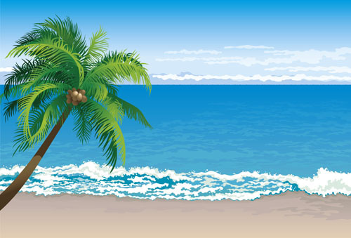 Clipart beach background graphic download Beach background clipart free vector download (51,751 Free vector ... graphic download