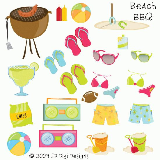 Beach bbq clipart picture black and white library Download beach bbq clipart Barbecue Clip art picture black and white library