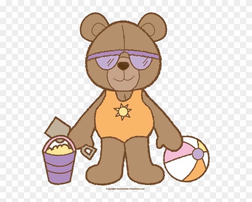 Beach bear clipart picture Teddy Bear Clipart Graphic Free Download - Beach Bear Clipart, HD ... picture