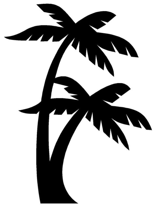 Beach black clipart image free download Free Palm Tree And Beach Pictures, Download Free Clip Art, Free Clip ... image free download