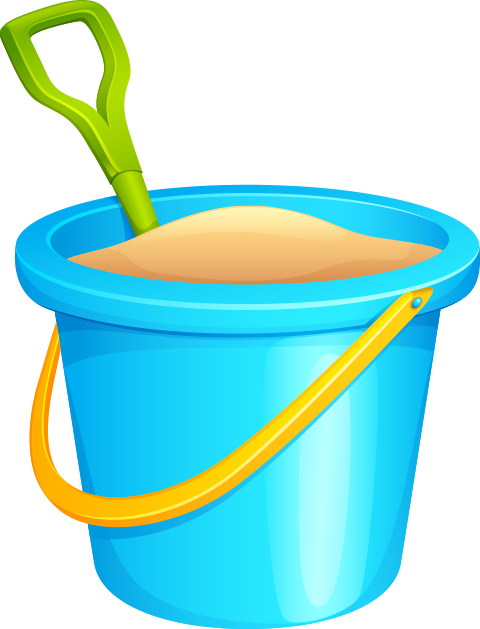 Beach buckets clipart png free clip art transparent library Free PNG Bucket | Konfest clip art transparent library