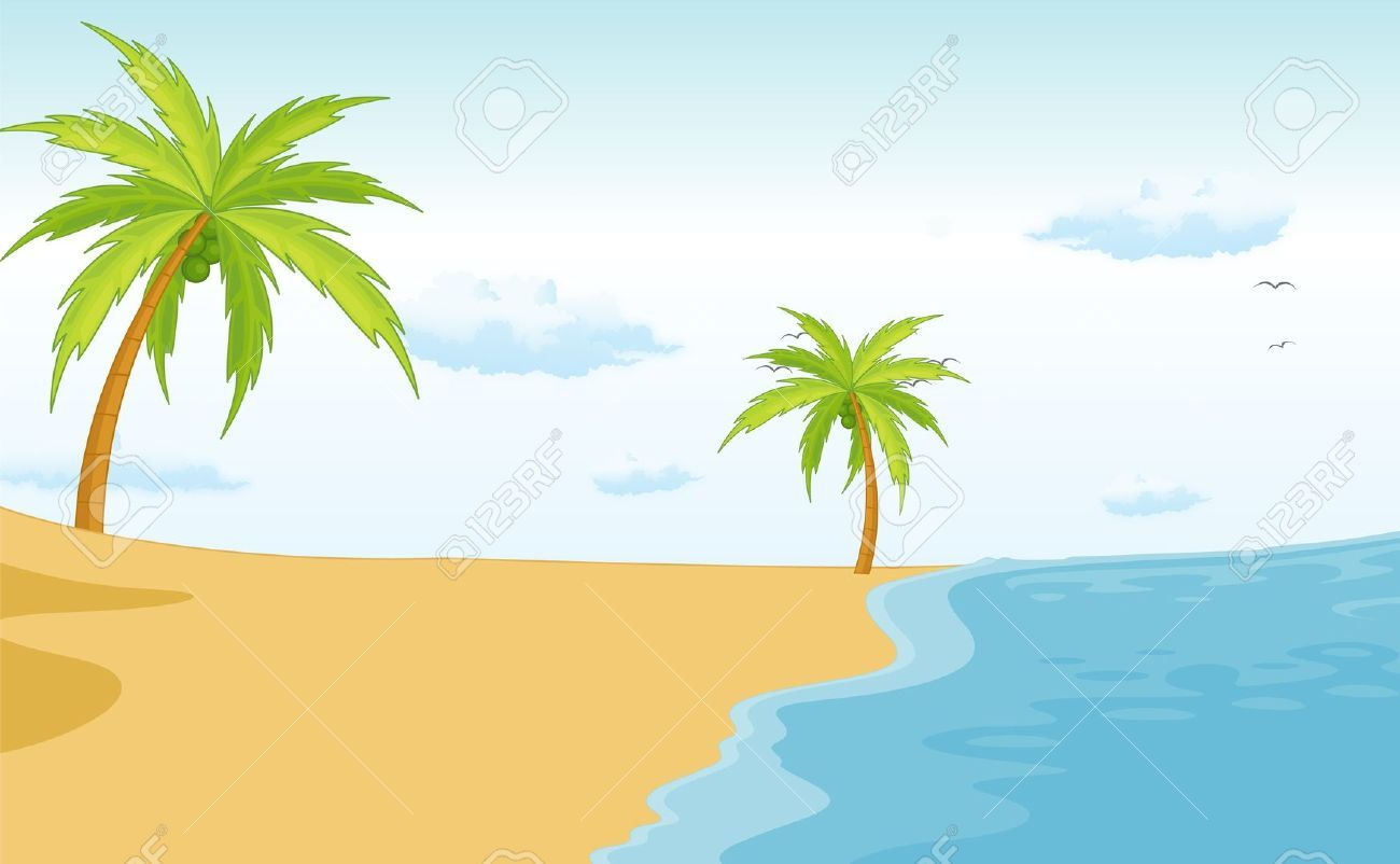 Beach cartoons clipart clipart royalty free download The beach clip art - ClipartFest | Canvas | Teaching packs, Beach ... clipart royalty free download