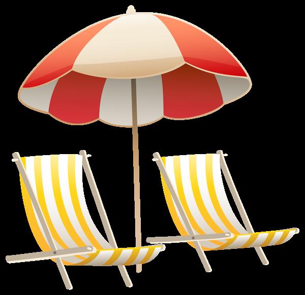 Beach cat clipart jpg download Beach Umbrella and Chairs PNG Clipart Image | Clip Art | Pinterest ... jpg download