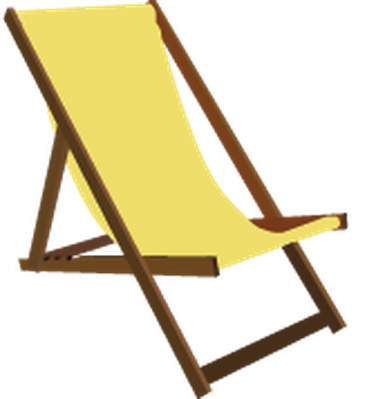 Beach chair clipart jpg royalty free stock Summer Beach Set - Beach Chair | Clipart | PBS LearningMedia jpg royalty free stock