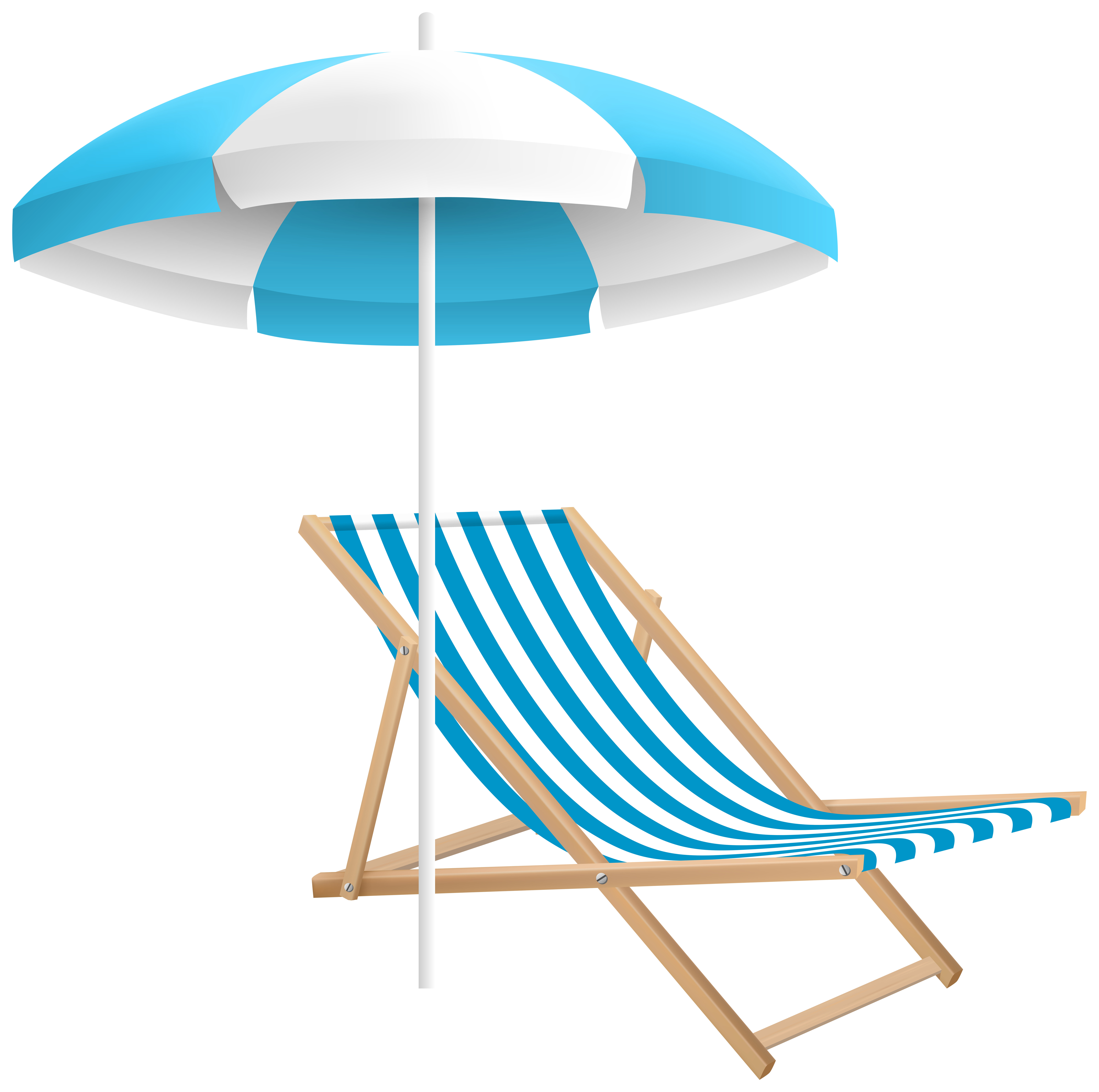Beach chair clipart picture royalty free Beach Chair and Umbrella PNG Clip Art Transparent Image | Gallery ... picture royalty free
