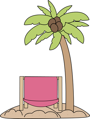 Beach chair umbrella palm tree christmas clipart transparent library Palm Tree and Beach Chair Clip Art - Clip Art Library transparent library