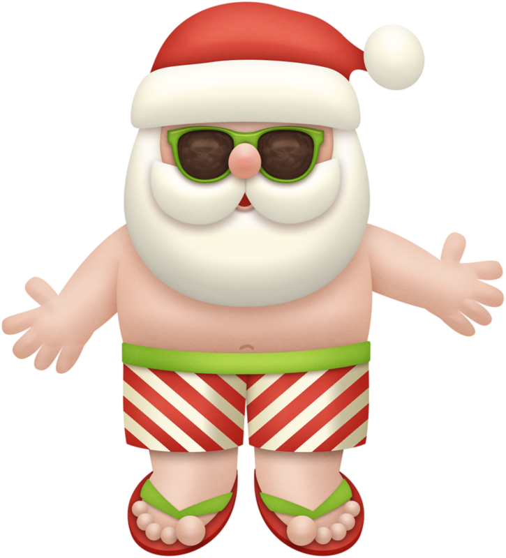 Christmas beach clipart svg download noel_2.png | Christmas clipart, Santa and Album svg download