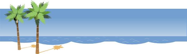 Beach ctrasnperant clipart banner transparent download Beach PNG Images Transparent Free Download | PNGMart.com banner transparent download