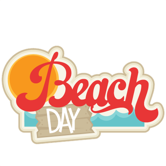 Beach day clipart royalty free stock CMS 7th Grade Beach Day   Coronado Middle School royalty free stock