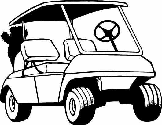 Beach decorated golf carts clipart freeuse download golf cart drawings - Google Search | Grad pics | Golf carts, Art ... freeuse download