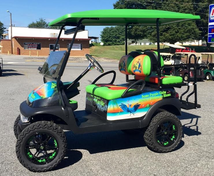 Beach decorated golf carts clipart vector free download Custom Golf Carts Gallery | Golf Cars of Hickory vector free download