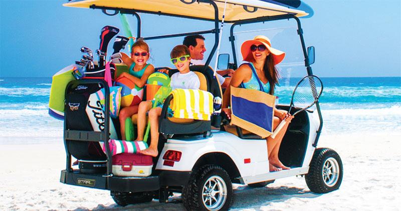 Beach decorated golf carts clipart png transparent Golf Carts Mobile Alabama | Golf Carts for Sale | Baldwin County png transparent