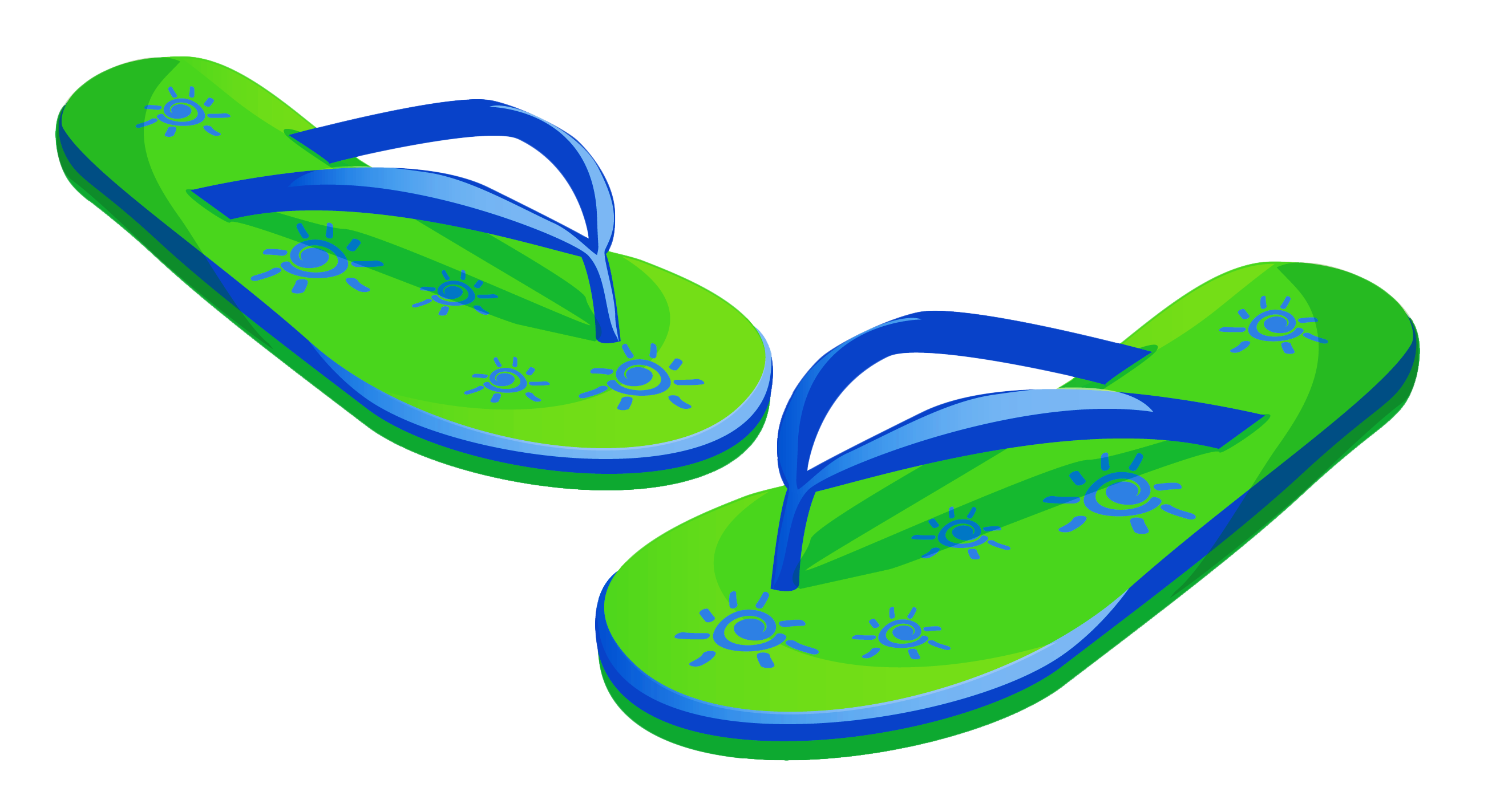 Beach slippers clipart jpg Transparent Green Beach Flip Flops PNG Clipart | Gallery ... jpg