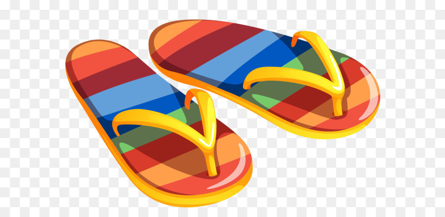Beach flip flops clipart png library download Beach Background png download - 4726*3126 - Free Transparent Slipper ... png library download