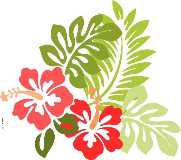 Beach flower clipart banner library download Beach Flowers Clipart banner library download