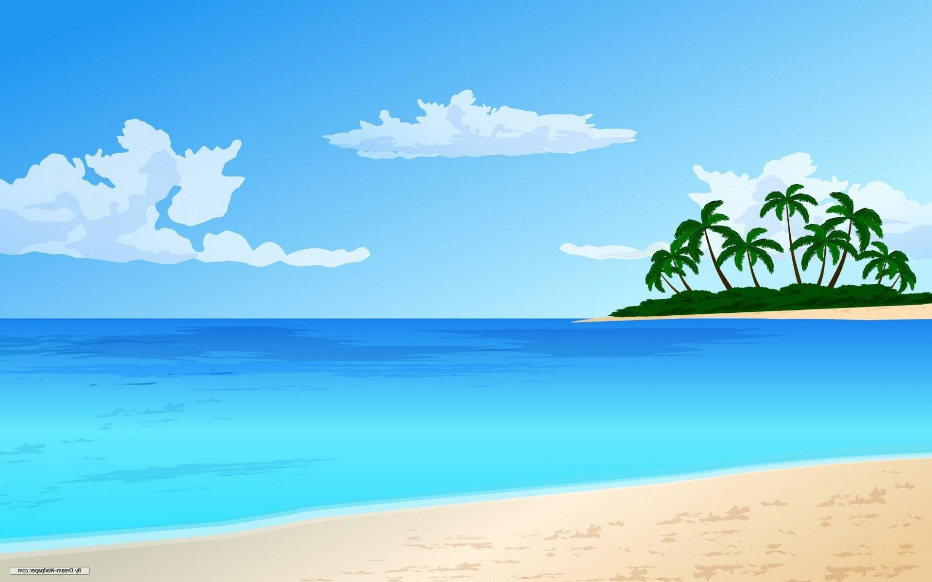 Beach hd clipart banner black and white download Beach backgrounds clipart 9 » Clipart Station banner black and white download
