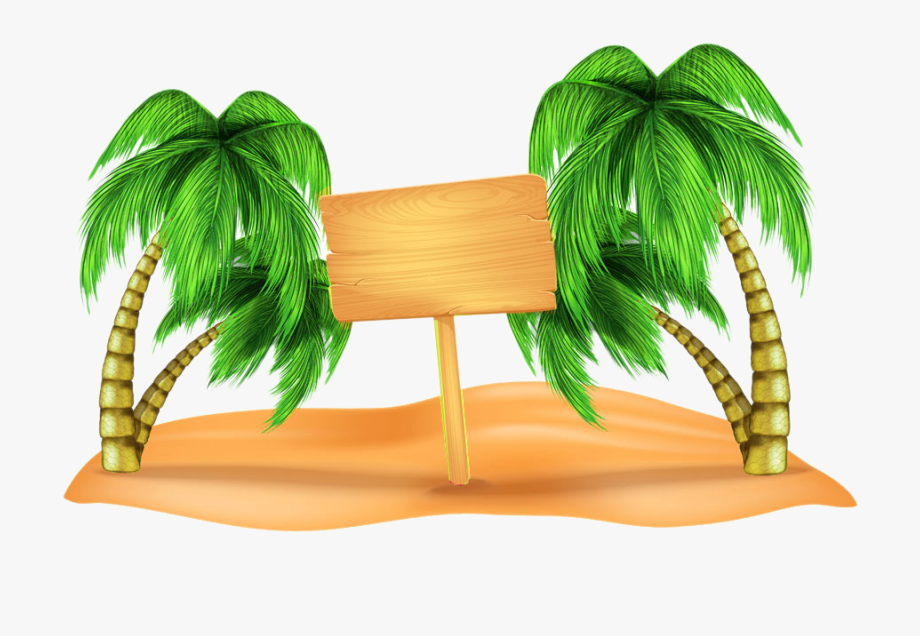 Beach hd clipart picture freeuse library Beach Clip Art - Coconut Tree Background Hd #232800 - Free Cliparts ... picture freeuse library
