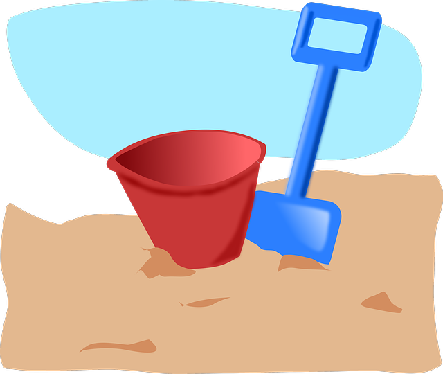 Beach house clipart graphic library stock Free Image on Pixabay - Beach, Toys, Shovel, Pail, Sand | Pinterest ... graphic library stock