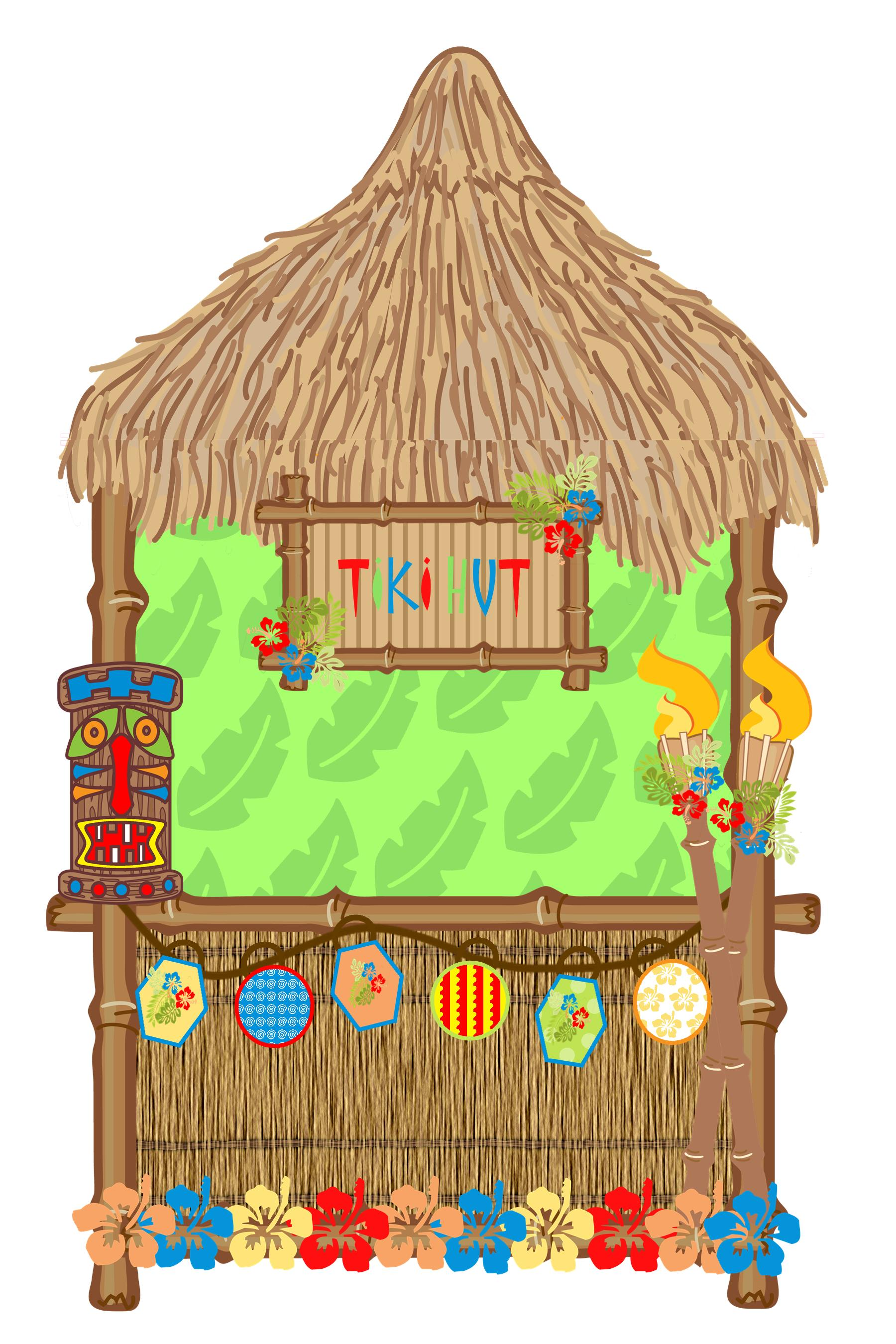 Beach hut animated clipart jpg library download Tiki Hut Clipart Group with 69+ items jpg library download