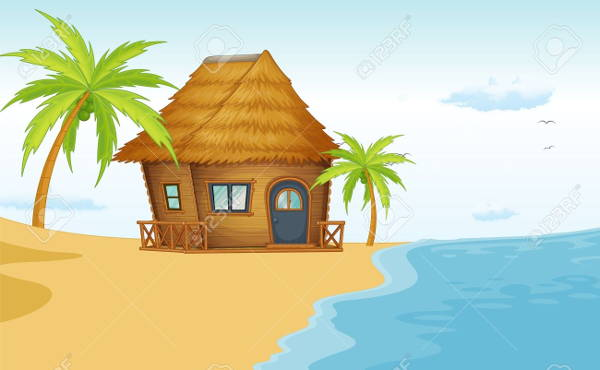 Beach hut animated clipart clip library library 10+ Beach Cliparts - Free Vector EPS, JPG, PNG Format Download clip library library