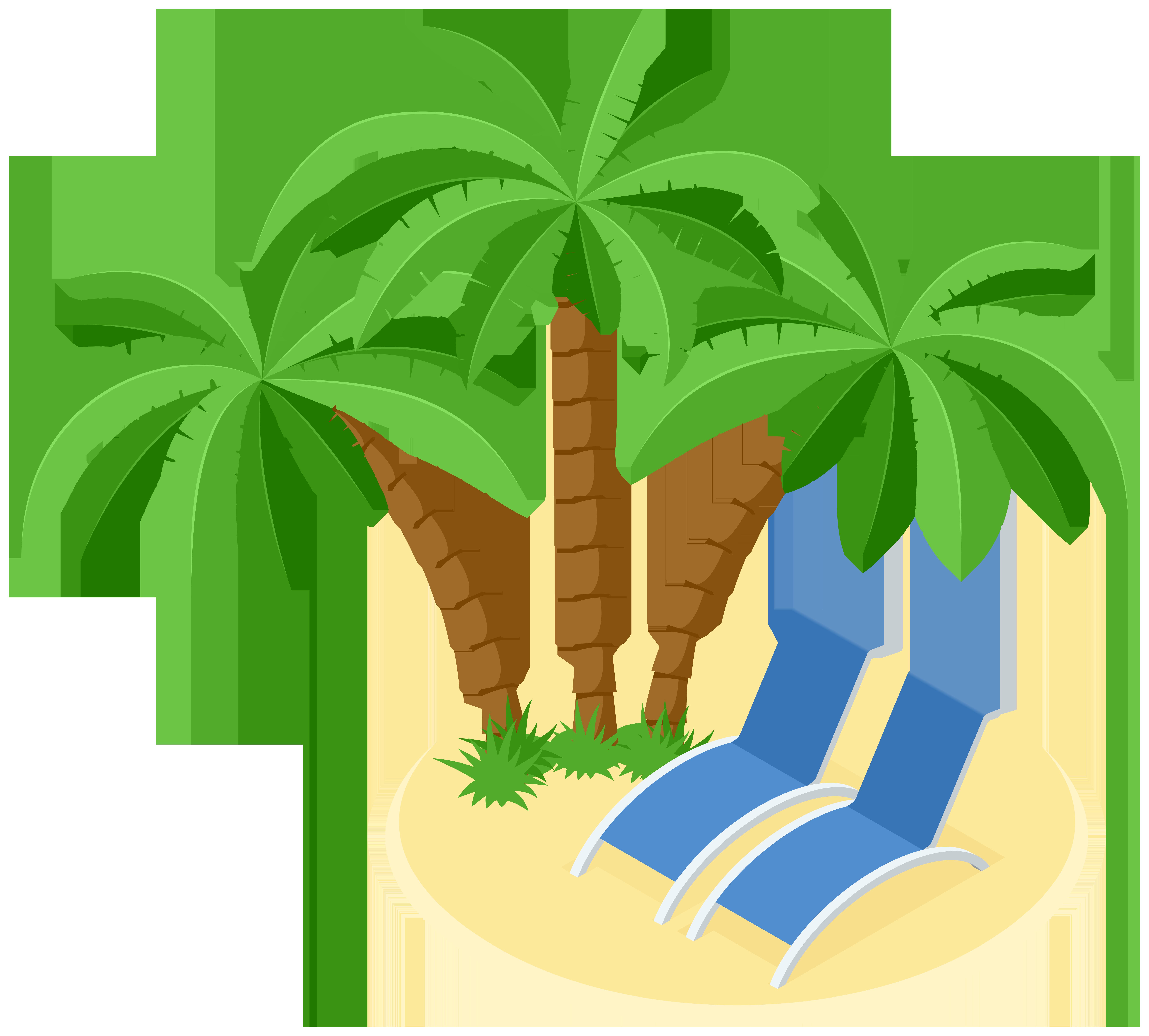 Beach island clipart vector Beach Island Transparent Image | Gallery Yopriceville - High ... vector
