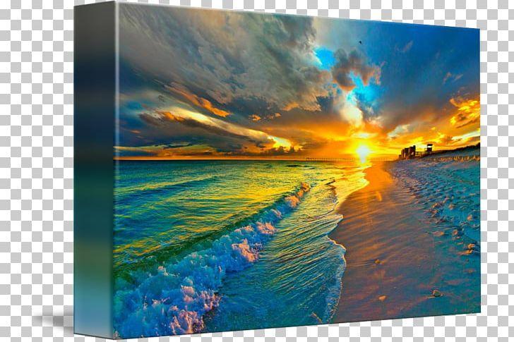 Beach landscape clipart vector free download Shore Pensacola Beach Landscape Painting PNG, Clipart, Art, Beach ... vector free download